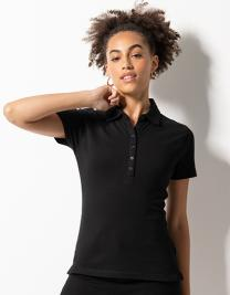 Women´s Short Sleeved Stretch Polo